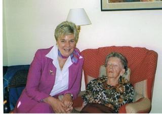 Betty 90 años en cumple