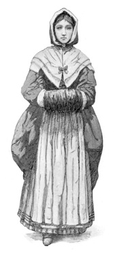 puritan wedding dress
