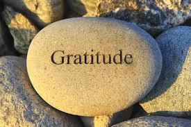 stone gratitude